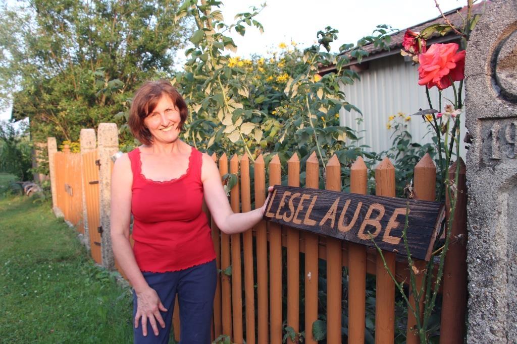 Bäuerin Christine's Leselaube - Einmalig!